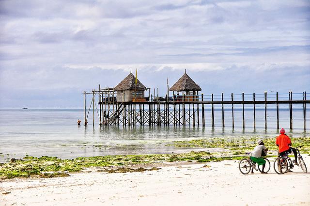 חופי הים בזנזיבר